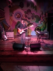 Crappy picture I took during Waxahatchee's set @ Converse Rubber Tracks